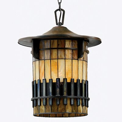 Quoizel Autumn Ridge 1 Light Large Outdoor Hanging Lantern