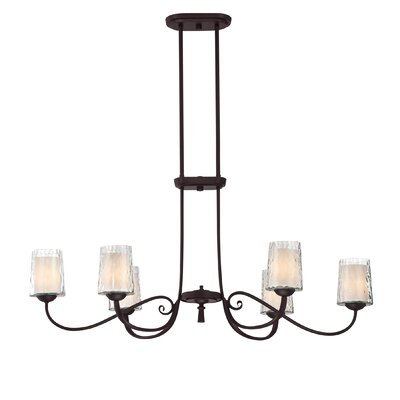Adonis 6 Light Kitchen Island Pendant