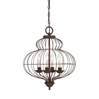 Quoizel Laila 4 Light Chandelier