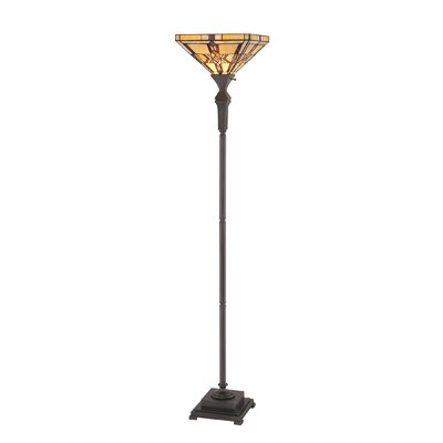 Quoizel Finton 1 Light Torchiere