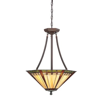 Quoizel Arden 3 Light Inverted Pendant