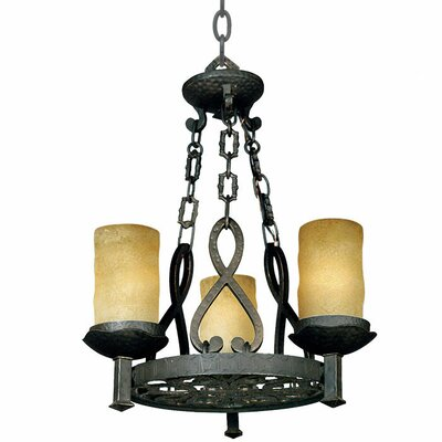 Quoizel La Parra 3 Light Chandelier