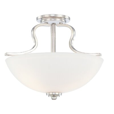 Quoizel Carter Large Semi Flush Mount
