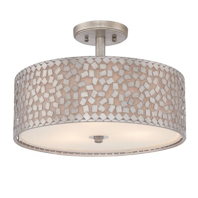 Quoizel Confetti 3 Light Semi-Flush Mount