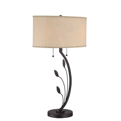 Quoizel Lively 2 Light Table Lamp