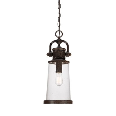 Quoizel Steadman 1 Light Outdoor Hanging Lantern