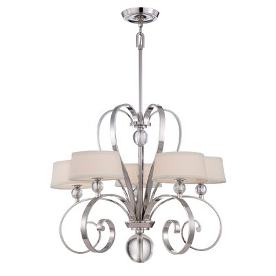 Quoizel Uptown Madison Manor 5 Light Chandelier