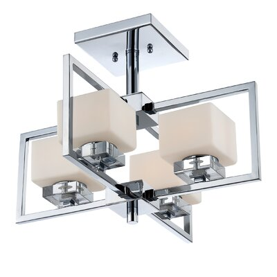 Quoizel Wain 4 Light Semi-Flush Mount
