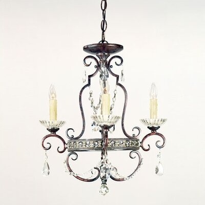 Quoizel 4 Light  Mini Chandelier