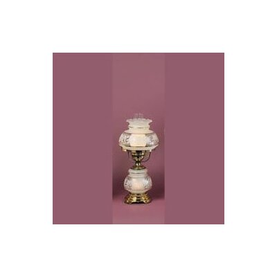 Quoizel Satin Lace Table Lamp