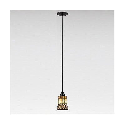 Veranda 1 Light Tiffany Piccolo Pendant