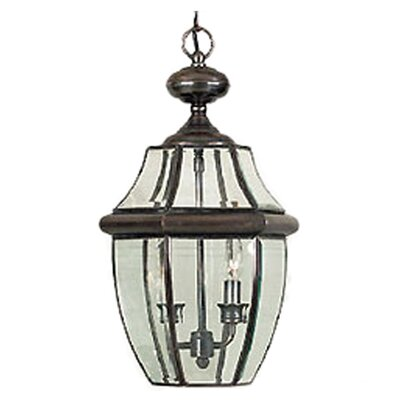 Quoizel Newbury 2 Light Outdoor Hanging Lantern