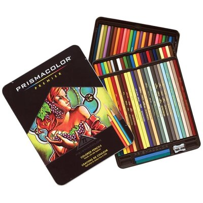 Sanford Prisma Color Pencil Set, 72/ST, Assorted Colors