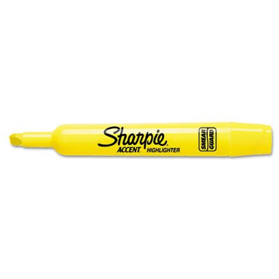 Sharpie® Accent Tank Style Highlighter, Chisel Tip, 12/ Pack