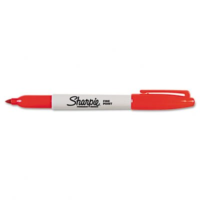 Sharpie® Permanent Marker, Fine Point, Green, 1/Each