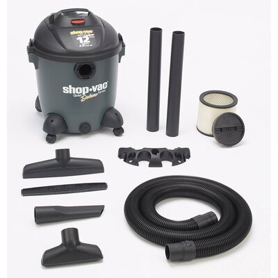 Shop-Vac 12 Gallon 5.0 HP Quiet Plus Series  586-12-00