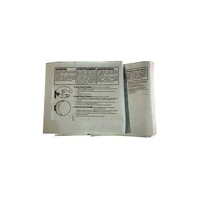 Shop-Vac 3 Pack 10 To 14 Gallon Disposable Filter Bags 906-62-19