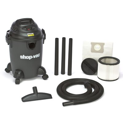 Shop-Vac 6 Gallon 3.0 Peak HP QSP Quiet Deluxe Wet / Dry Vacuum
