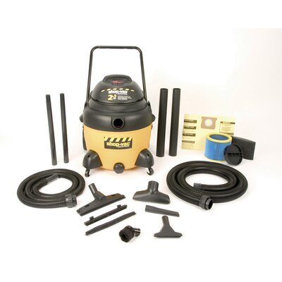 Shop-Vac 16 Gallon 2.5 Peak HP Two-Stage Industrial Multi Purpose Wet / Dry Vacuum