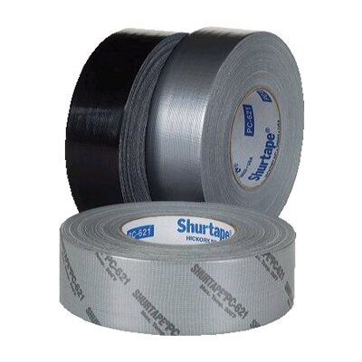 "Shurtape Contractor Grade Duct Tapes - 105699 2""x60yds silver duct tape prem contr"