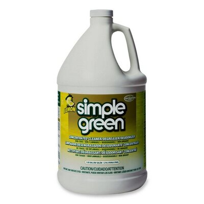 Simple Green All-Purpose Cleaner, Nontoxic, Biodegradable, 1 Gal, Lemon