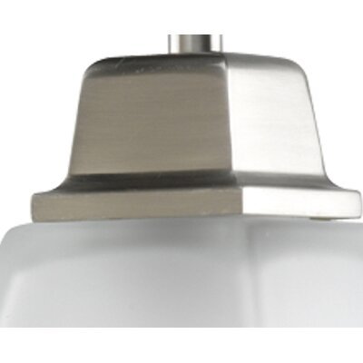 Progress Lighting North Park  Mini Pendant in Brushed Nickel