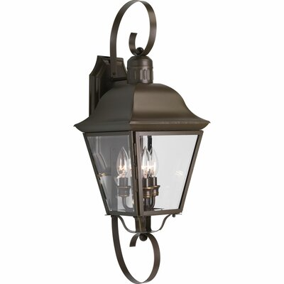 Progress Lighting Andover 3 Light Outdoor Wall Lantern