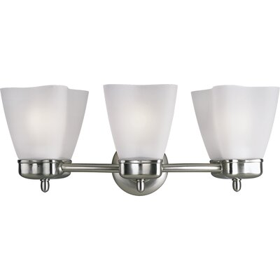 Progress Lighting Michael Graves Vanity Light in Brushed Nickel