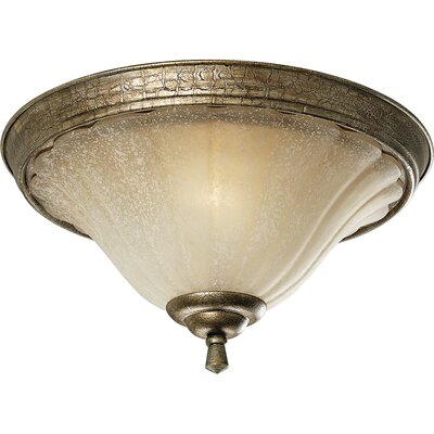 Progress Lighting Le Jardin Espresso Flush Mount