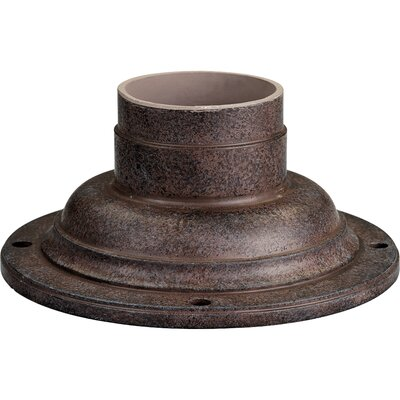 Progress Lighting Pedestal Mount in Weathered Bronze