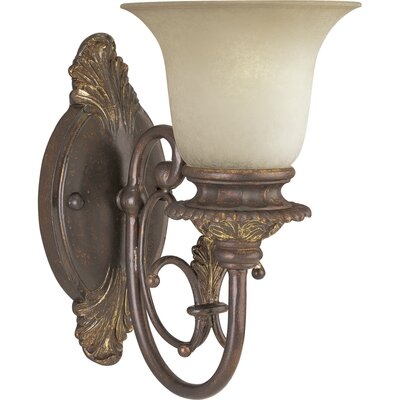 Progress Lighting Thomasville Messina  Wall Sconce in Aged Mahogany