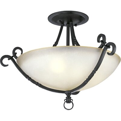 Progress Lighting Thomasville Santiago 3 Light Semi Flush Mount