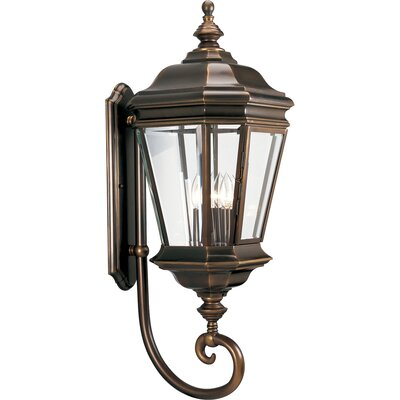 Progress Lighting Crawford Incandescent 4 Light Outdoor Wall Lantern