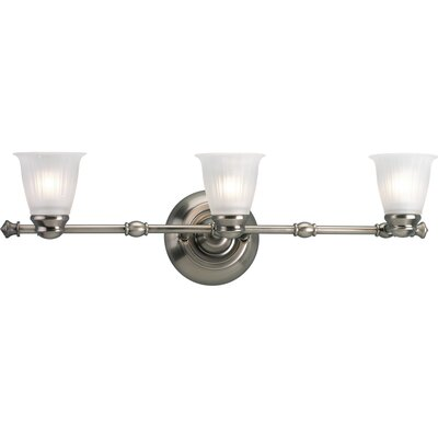 Progress Lighting Renovations  Vanity Light in Antique Nickel