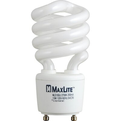 Spiral Fluorescent Bulb in Warm White