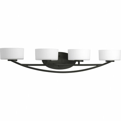 Progress Lighting Calven 4 Light Bath Vanity Light