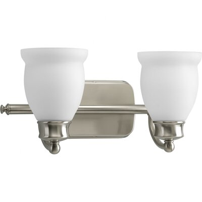 Progress Lighting Leeland 2 Light Tea Pot Inspired Bath Vanity Light