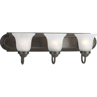 Progress Lighting Builder 3 Light Bath Vanity Light