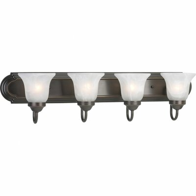 Progress Lighting Builder 4 Light Bath Vanity Light