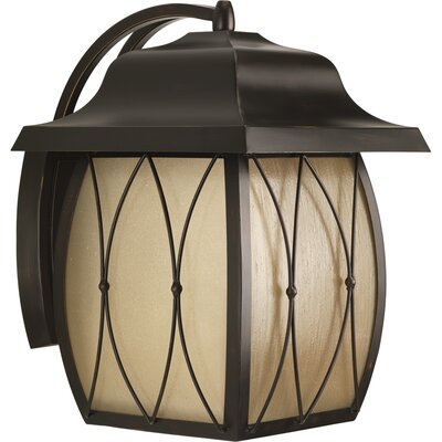 Progress Lighting Montreux One Light Large Wall Lantern in Antique Bronze