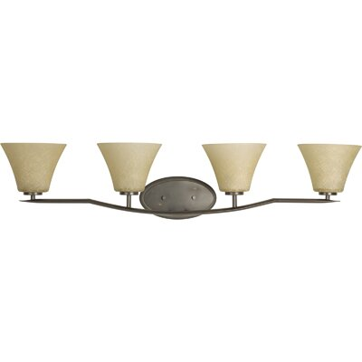 Progress Lighting Bravo 4 Light Bath Vanity Light