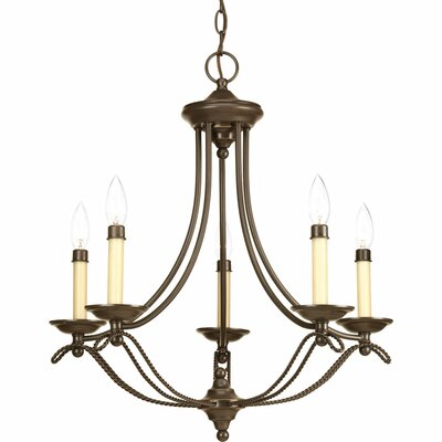 Avalon 5 Light Mini Chandelier