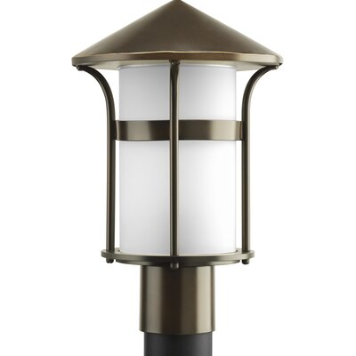 Progress Lighting Welcome 1 Light Outdoor Post Lantern