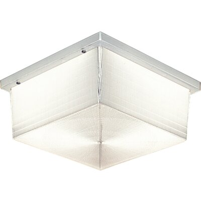 Progress Lighting Hard-Nox Fluorescent 2 Light Outdoor Flush Mount