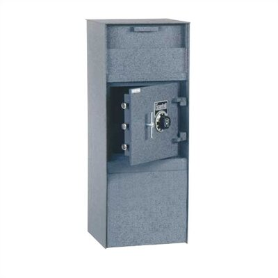 Gardall Safe Corporation Large Single Door Commercial Front Loading Depository Safe 2.08 CuFt