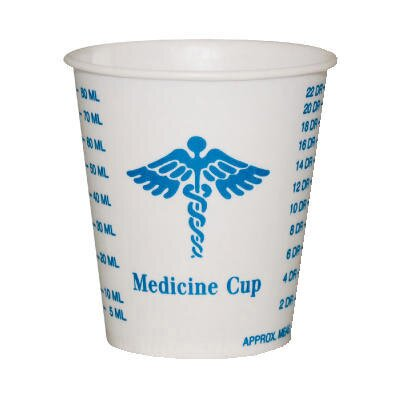 Solo Cups Paper Medical and Dental Graduated Cups