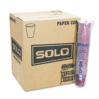 Solo Cups Company Bistro Design Hot Drink Cups, 12 Oz., 50/Pack