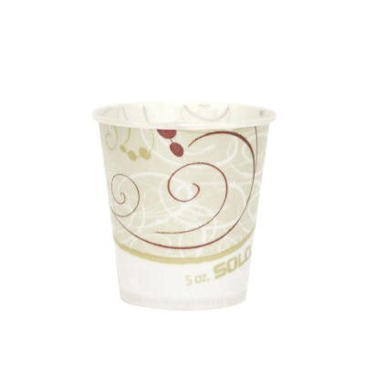Solo Cups 5 oz Waxed Paper Water Cups