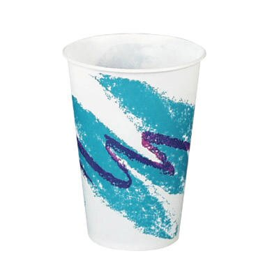 Solo Cups Jazz Waxed Paper Cold Cups Tide Design