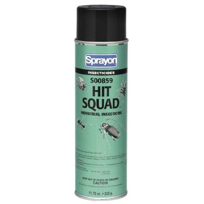 Sprayon Hit Squad Industrial Insecticides 120 Grit Metalite Cartridge